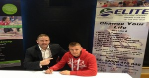 Paul Hyland Irish Boxing prospect